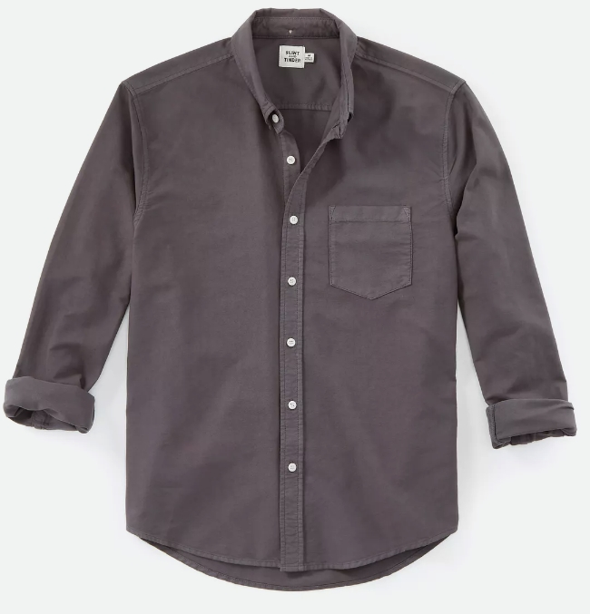 Garment Dyed Oxford in Slate