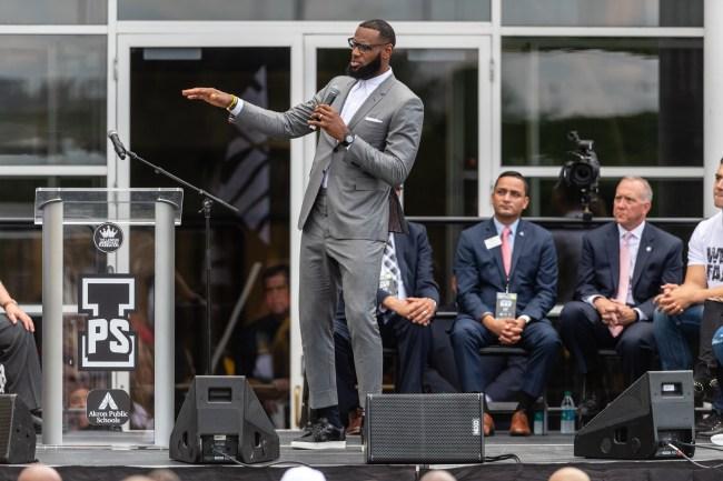 LeBron James I Promise Schools Exceed espectations