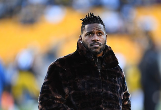Antonio Brown Blames The Media For Beef With JuJu Smith-Schuster