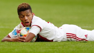 Soccer Star David Neres Slid Into A German Model's DMs With A Serial Killer Line And Now They're In Love
