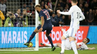 Paris Saint-Germain Player Robs His Own Teammate Of A Goal With Mind-Bending Blunder