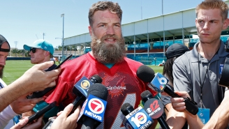 Ryan Fitzpatrick's Excuse For Letting Himself Get Chunky In The Offseason Is A+