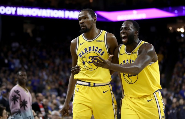 Draymond Green's Likes Tweets That Rip Kevin Durant