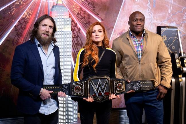 WWE Wrestlemania 35 Daniel Bryan