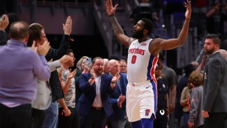 Pistons' Andre Drummond Blasts Fan Who Calls Him Out For Bragging About Beating The Grizzlies