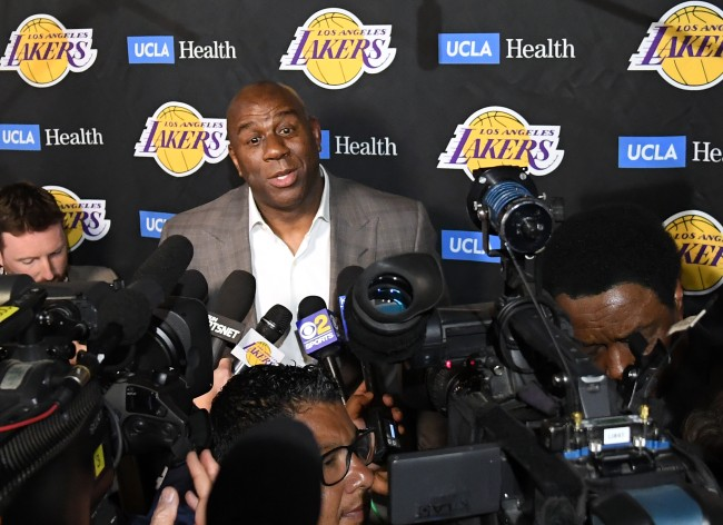 Magic Johnson Reveals Reasons Why He Resigned From Lakers