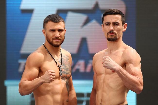 Stream Vasiliy Lomachenko v Anthony Crolla