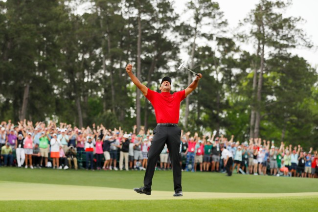 Tiger Woods 2019 masters win