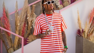 Tyga Dropped $500,000 On Four Pound White Gold Chain That Will Blind You If You Look Too Long