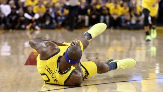This Photo Of DeMarcus Cousins' Quad After Non-Contact Injury Is Not For The Weak