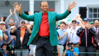 Husband Wins Bet With Pregnant Wife To Name Son 'Tiger' Following Masters Win, Even Drew Up A Contract