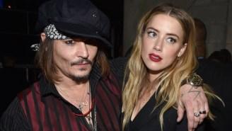 Amber Heard Reveals 'Monster' Johnny Depp Went On A Rampage After She Filmed Sex Scene With James Franco