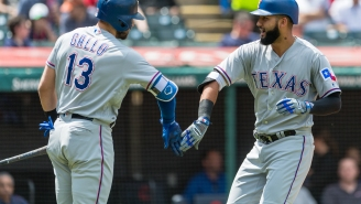 Texas Rangers' Joey Gallo And Nomar Mazara Grab Each Other's Crotches In Bizarre Home Run Celebration