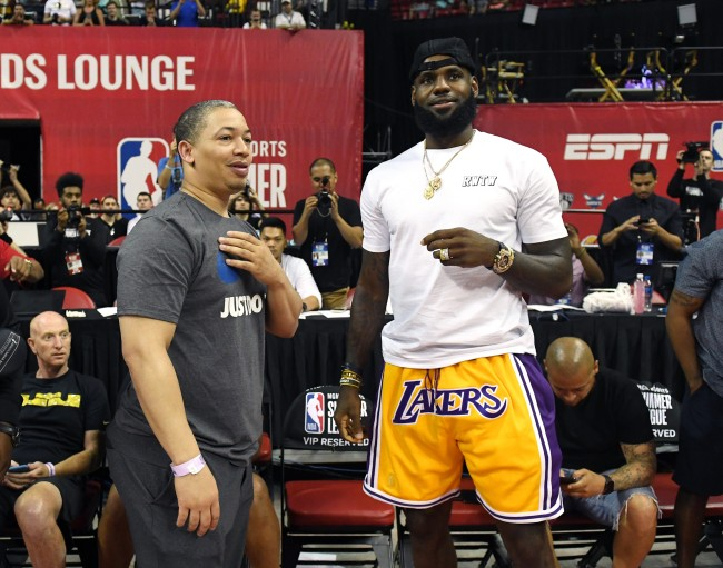 Lakers fear hiring Ty Lue will give LeBron too much power