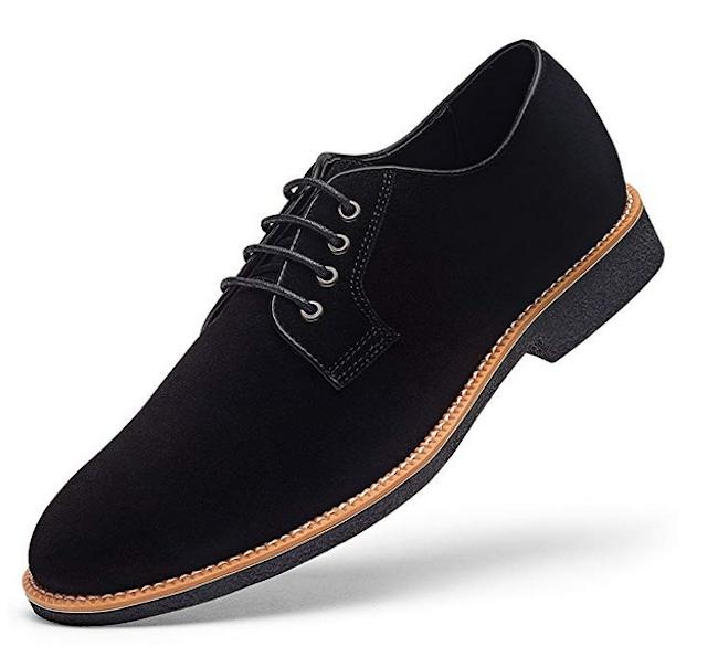 Golaiman Men's Suede Dress Shoes
