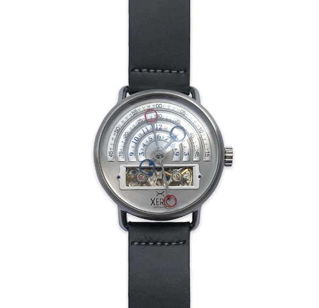 Halograph Automatic Silver by Xeric