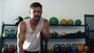 Here's Some Of The Intense 'HIRT' Workout That Chris Hemsworth Uses To Burn Fat And Build Muscle