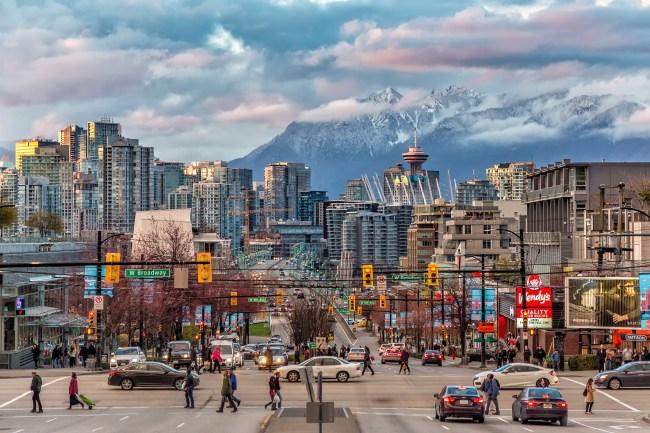 Vancouver British Columbia Skyline