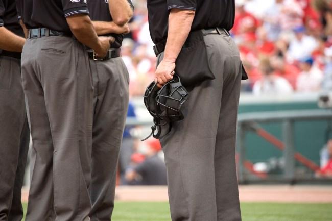 baseball umpire crew