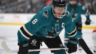 San Jose Sharks Captain Joel Pavelski Used His Mouth To Score The Most Painful Goal In NHL History