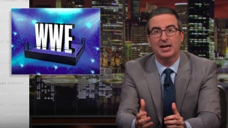 John Oliver Called Out The WWE For Ignoring The Health Of Its Wrestlers As Only He Can