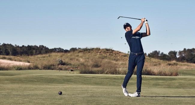 Jordan Spieth Under Armour Golf Scripting Masters 2019