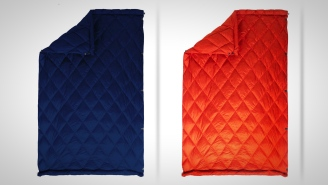 Super Soft Down Travel Quilt From Kammok Is Like Bringing An Easily-Packable Puffer Jacket Blanket With You Anywhere