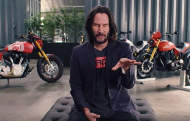 Keanu Reeves motorcycles