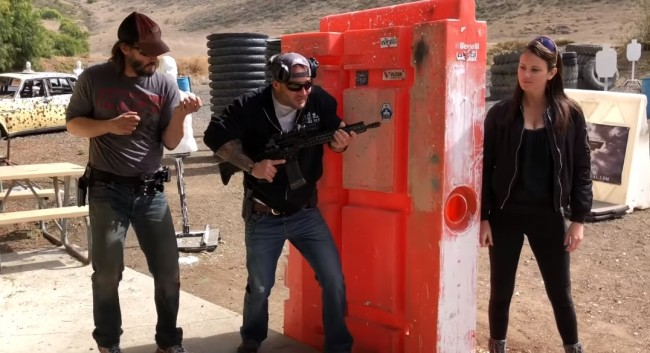 Videos Of Keanu Reeves Being Trained Gun Tactics By A Navy SEAL For 'John Wick 3' Is So Interesting To Watch