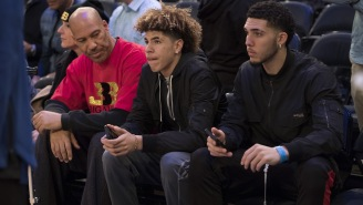 Lavar Ball Disrespects Zion Williamson By Saying Duke Phenom 'Can't Hold A Candle' To LiAngelo Ball