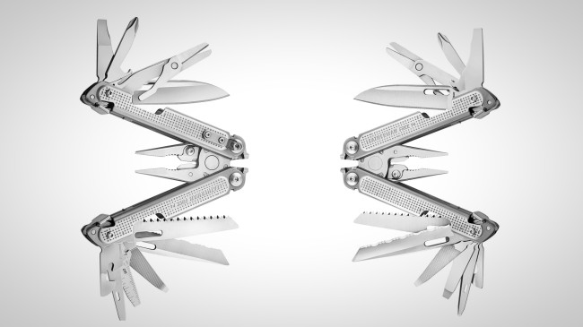 Leatherman Free Multi-tool pliers P2 and P4