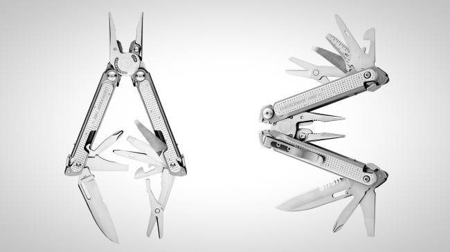 Leatherman Free Multi-tool pliers P2 and P4