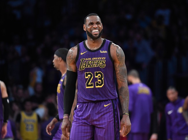 LeBron James has reportedly lost trust in the Los Angeles Lakers.