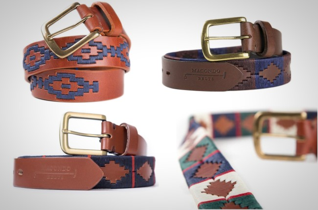 Macondo Belts handmade in Colombia