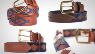These Stylish Handmade Belts Inspired By The Game Of Polo Will Make Your Tired Old Outfits Look Fresh And New
