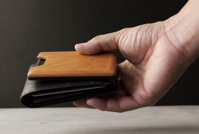 Madera Union Cherry Wood Wallet