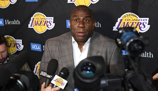Magic Johnson Saying Im Not Gonna Be Here Is This Weeks Best Meme