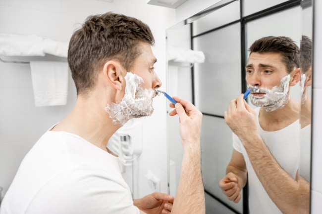 when did people start shaving