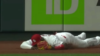 Cardinals Outfielder Marcell Ozuna Made The Worst MLB Play I've Seen In Years And Fell Flat On His Face