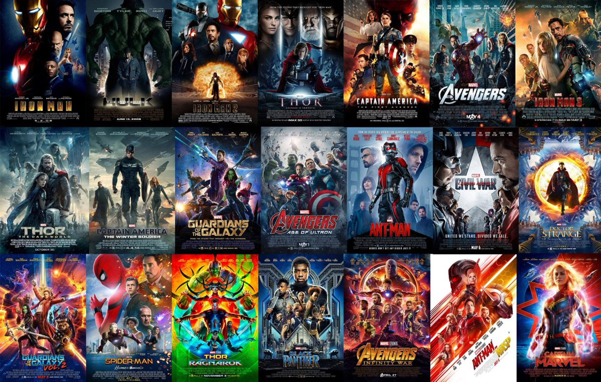 The Ultimate Marvel Cinematic Universe Timeline Of Every Scene In Every Movie In Chronological Order Brobible