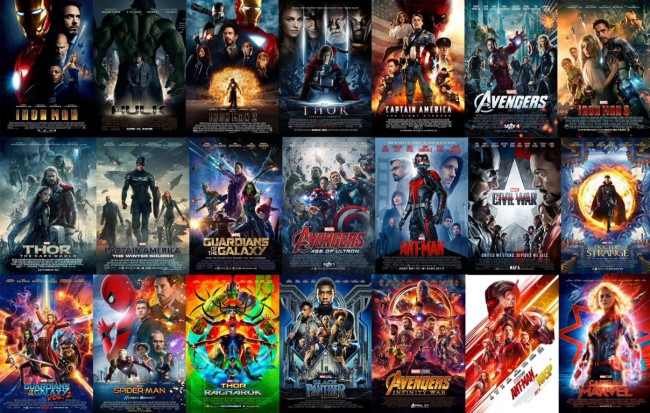 Marvel Cinematic Universe Timeline Of Every Scene In Every Movie