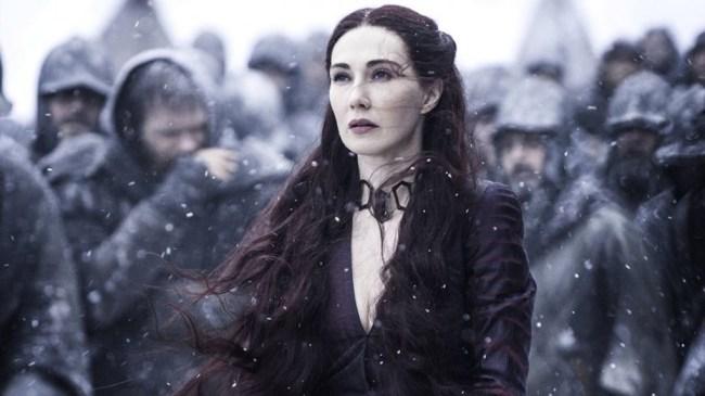 melisandre game of thrones fan theory battle of winterfell