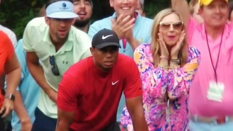 Michael Phelps Magnificently Broke Down The Viral Masters Moment Of Him Photobombing Tiger Woods