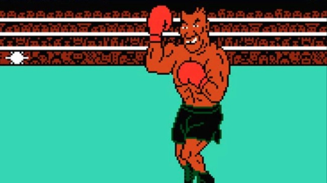 nintendo punch out mike tyson reaction