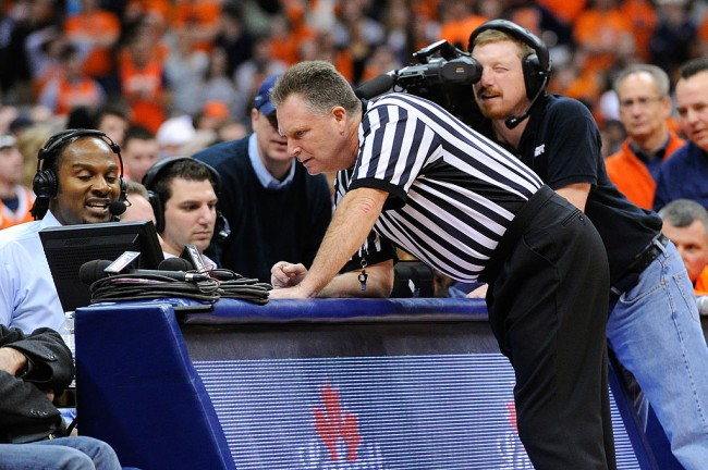 ncaa instant replay