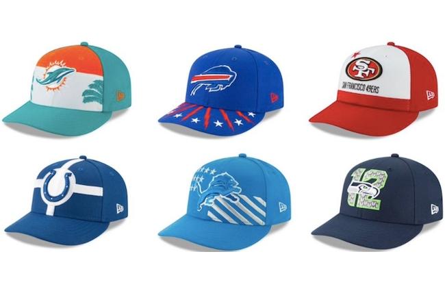 new era nfl draft hats 2019