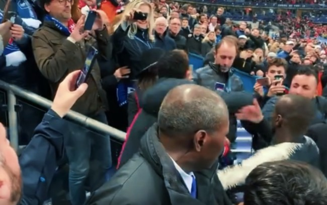 Neymar punches fan PSG French Cup Final
