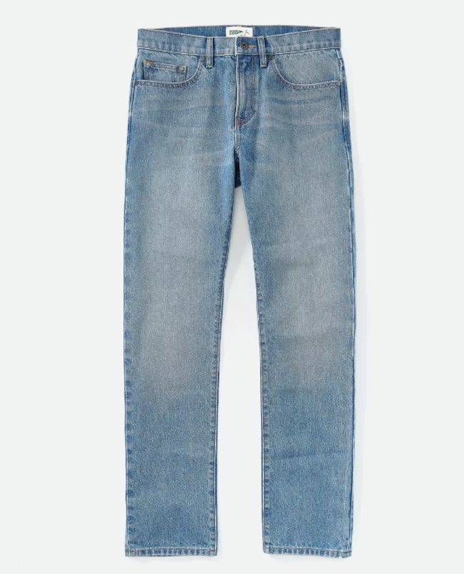 Organic Jeans in Stonewash