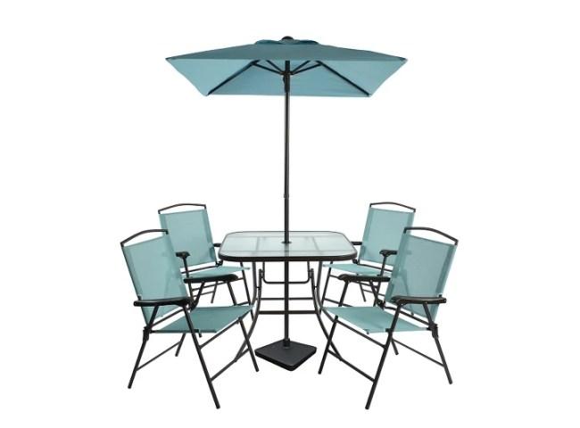 30% OFF 7pc Metal Folding Patio Dining Set