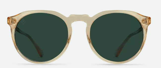 Remmy 52 in Champagne Crystal:Bottle Green Sunglasses